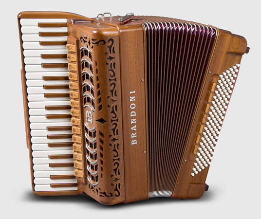 Brandoni 148W piano accordion