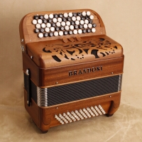 Brandoni 181W chromatic accordion
