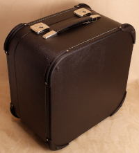 Deluxe hard case for 3-row button accordion