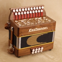 Castagnari Lilly button accordion