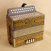 Hohner Pokerwork button accordion