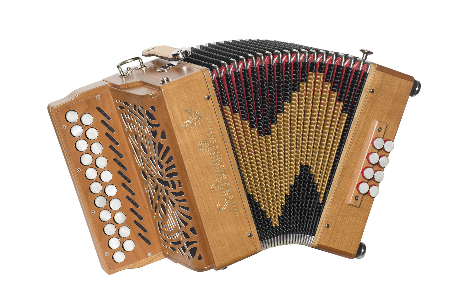 Saltarelle Aether II button accordion