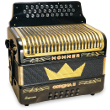 Three-Row Button Accordions