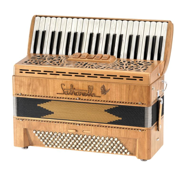 Saltarelle Bonaparte piano accordion