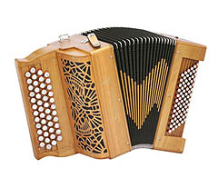 Saltarelle Bourroche chromatic accordion