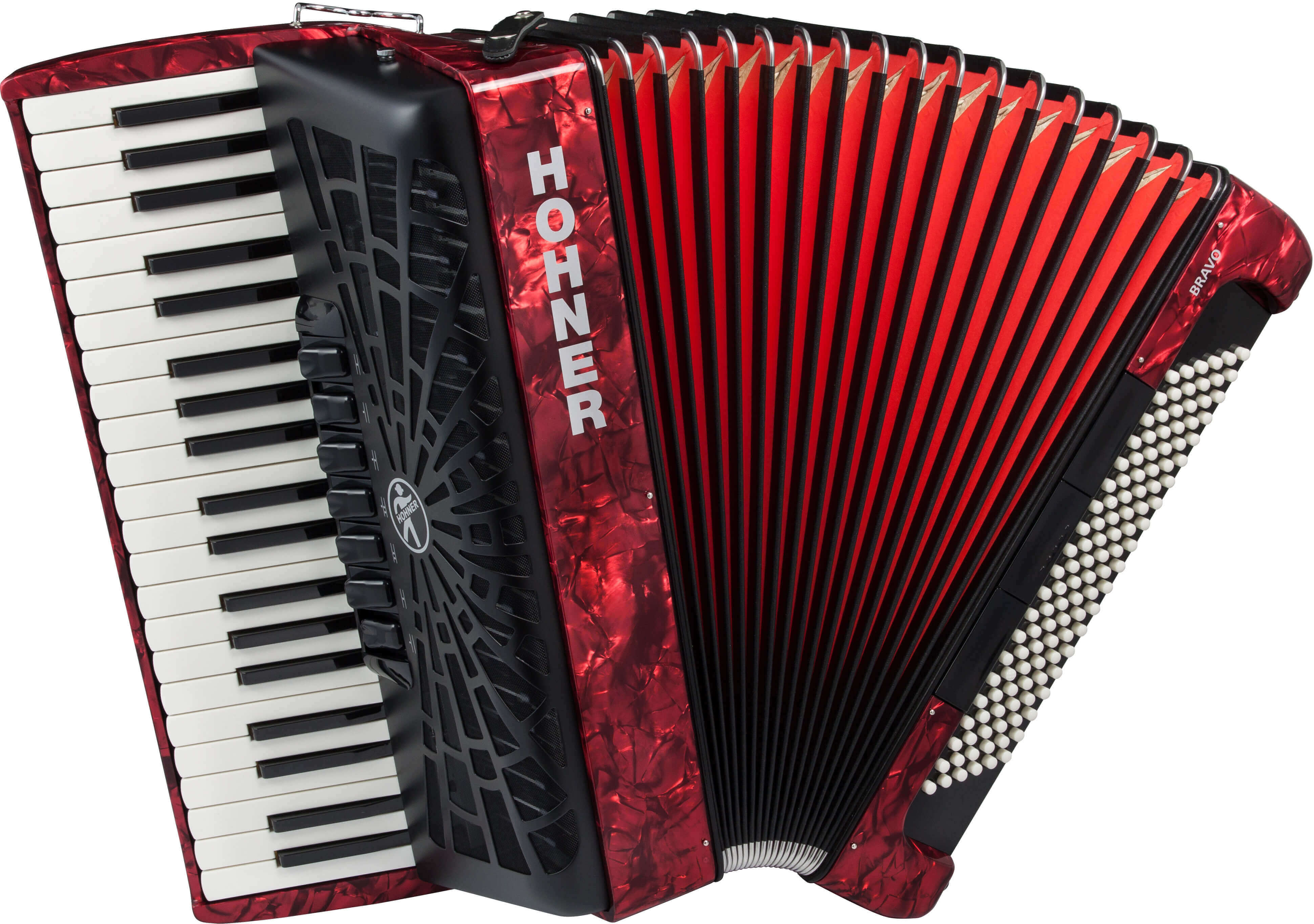 Hohner Bravo III 120 piano accordion