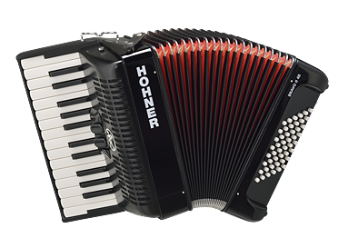 Hohner Bravo II 48 piano accordion