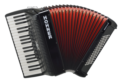 Hohner Bravo III piano accordion