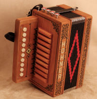 Hohner Cajun IV button accordion