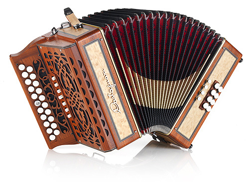 Castagnari Trilly button accordion