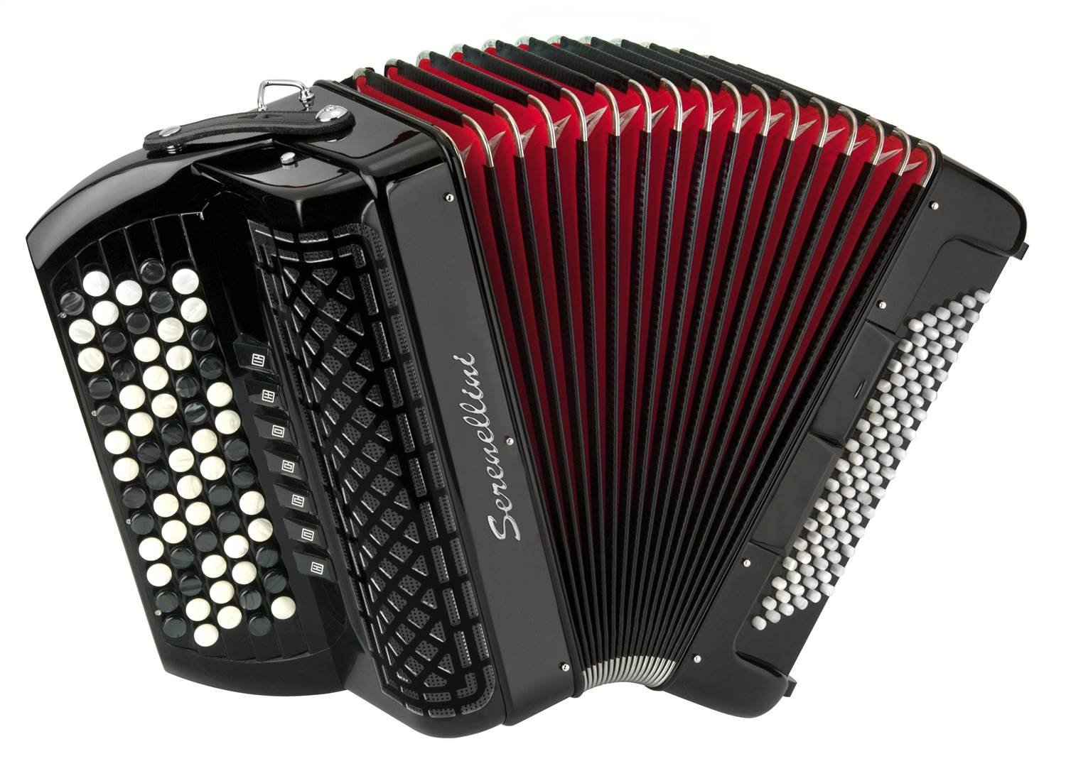 Serenellini 373 chromatic accordion