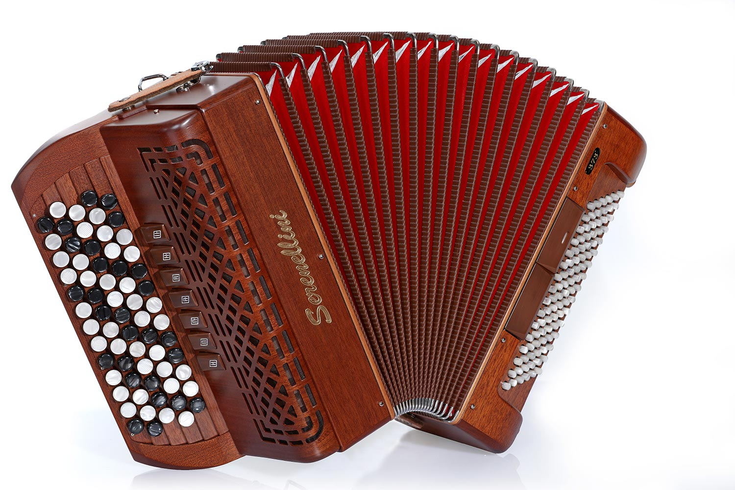 Serenellini 373MW chromatic accordion
