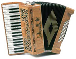 Saltarelle Clifden piano accordion
