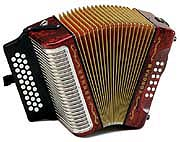 Hohner Corona III button accordion