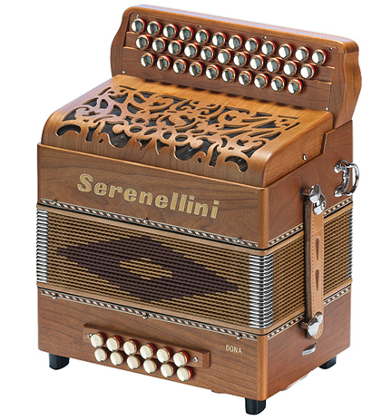 Serenellini Dona button accordion