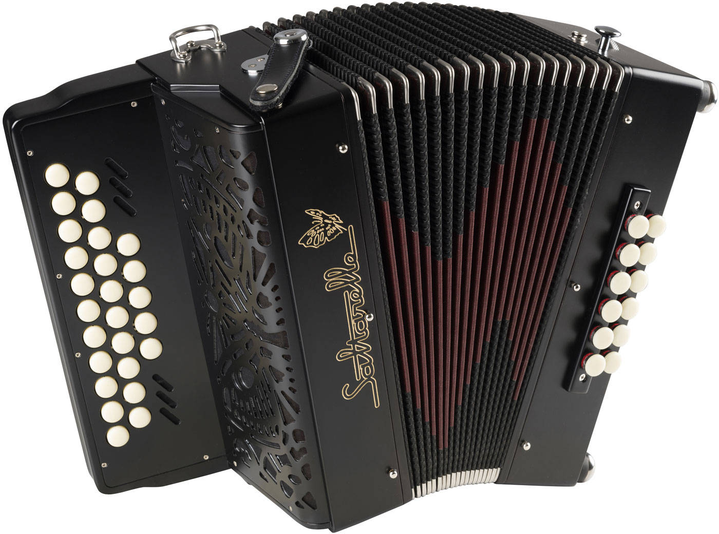 Saltarelle Endymion button accordion