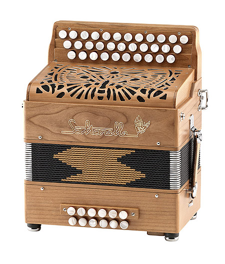 Saltarelle Etincelle button accordion