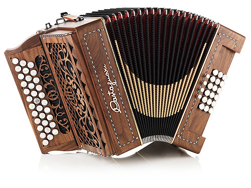 Castagnari Handry button accordion