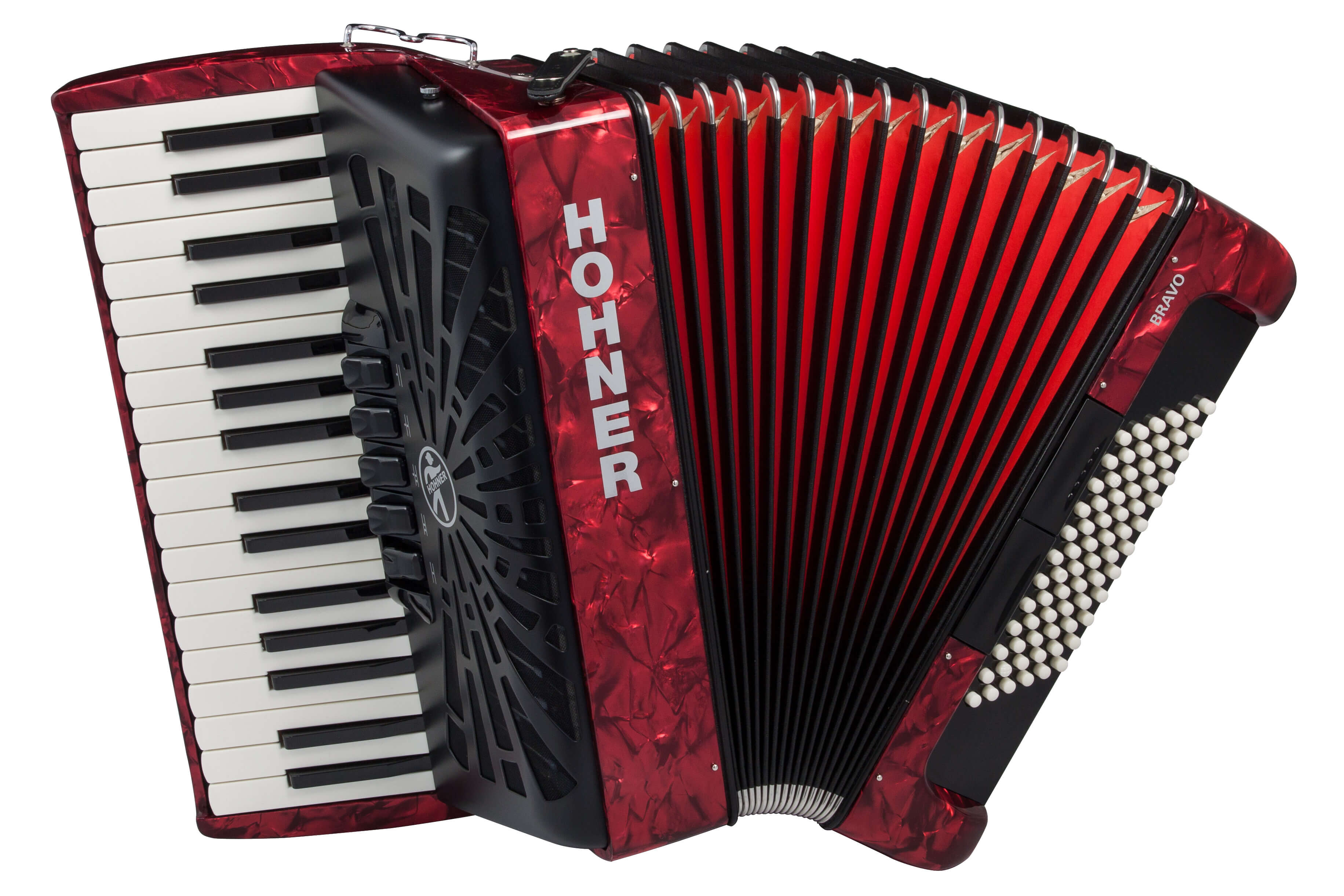 Hohner Bravo III 72 button accordion