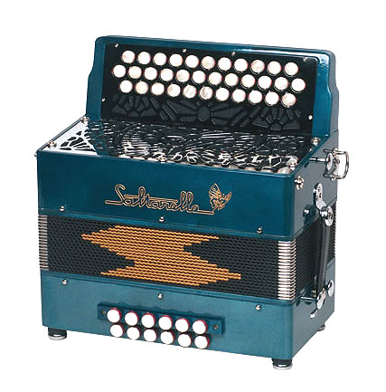 Saltarelle Laurentides button accordion
