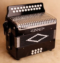 New Linnet button accordion