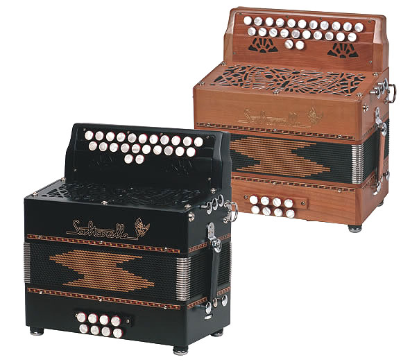 Saltarelle Lorelei button accordion