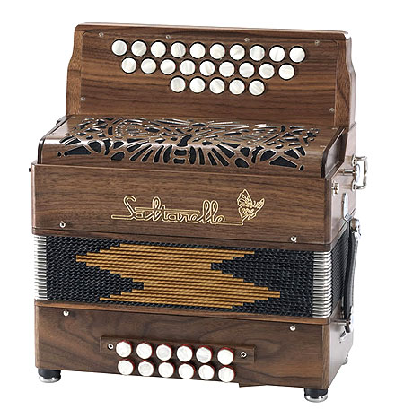 Saltarelle Luchta button accordion