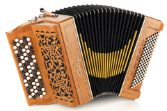 Castagnari Magica chromatic accordion