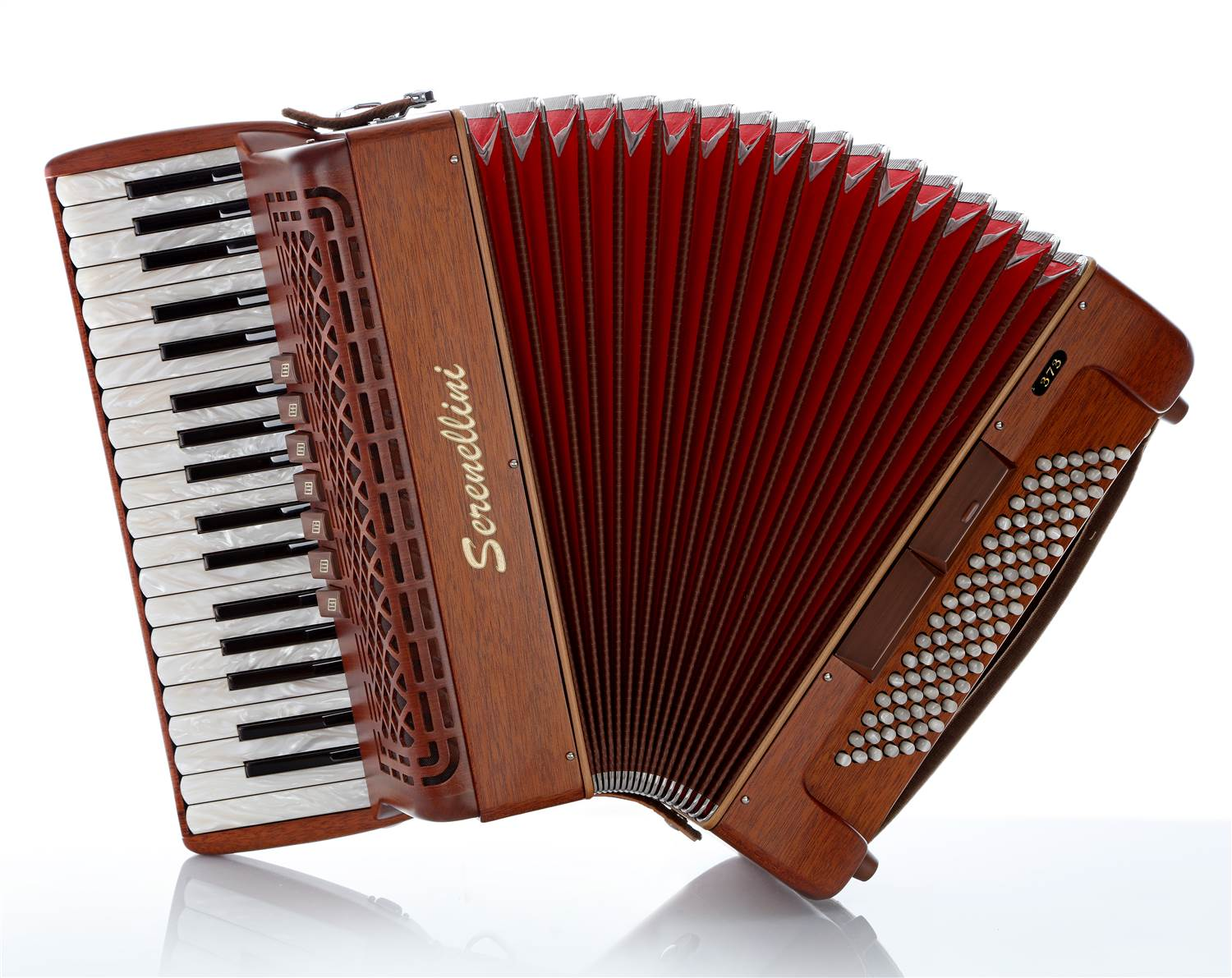 Serenellini 373MW piano accordion