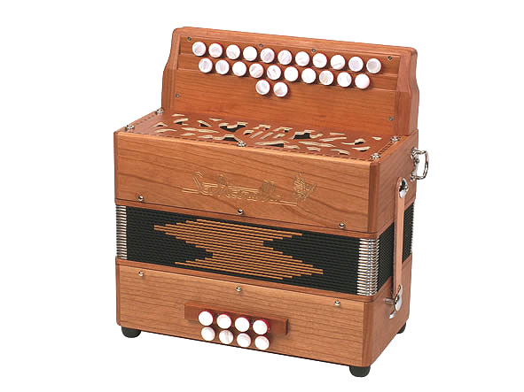 Saltarelle Parisien button accordion