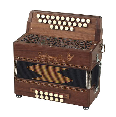 Saltarelle Pastourelle II button accordion