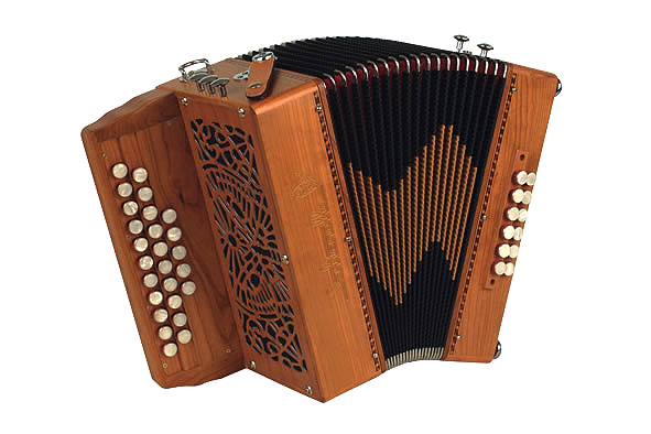 Saltarelle Pastourelle III button accordion