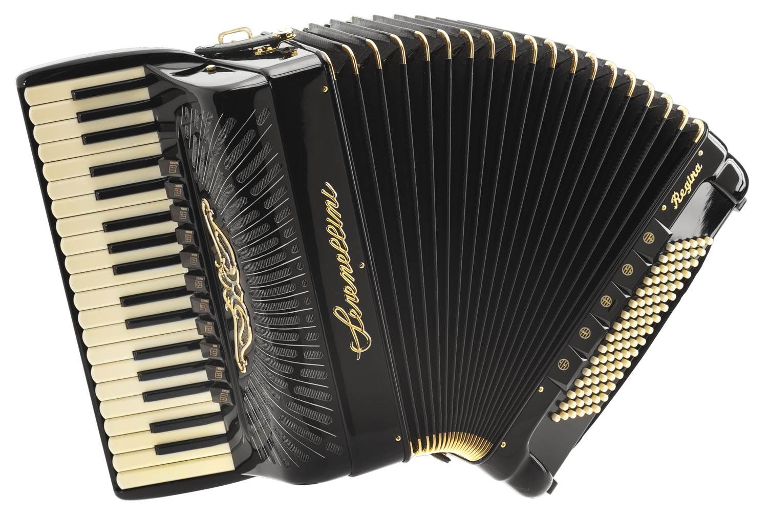 Serenellini Cassotto Regina Gold 2+2 piano accordion