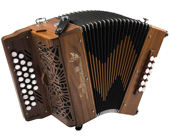 Saltarelle Romane button accordion
