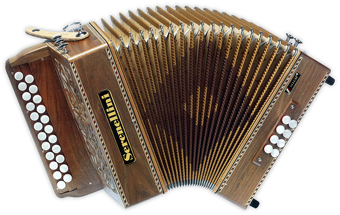 Serenellini 233 Deluxe button accordion