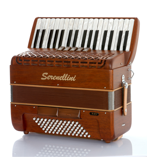 Serenellini 343MW piano accordion