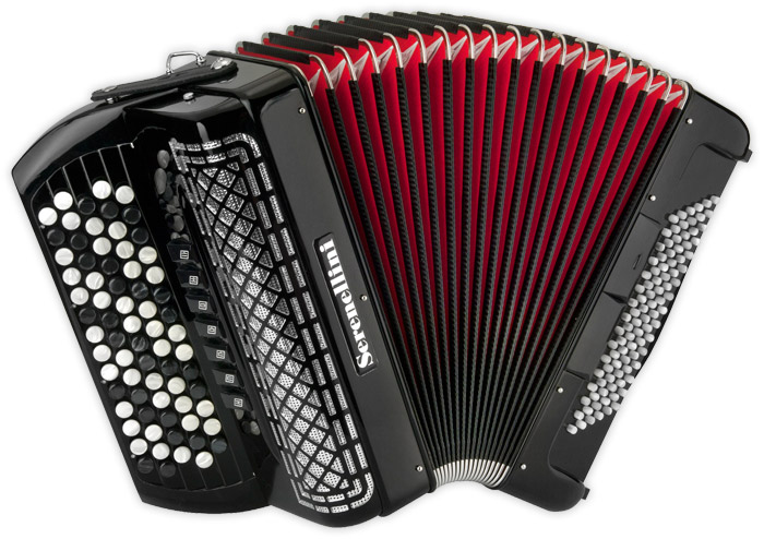 Serenellini chromatic accordion