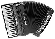 Serenellini Cassotto Imperator Silver 2+2 piano accordion