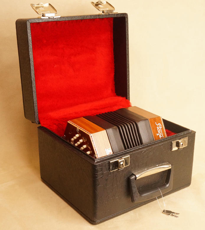 Stagi concertina hard case