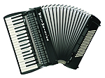 Weltmeister Topas piano accordion