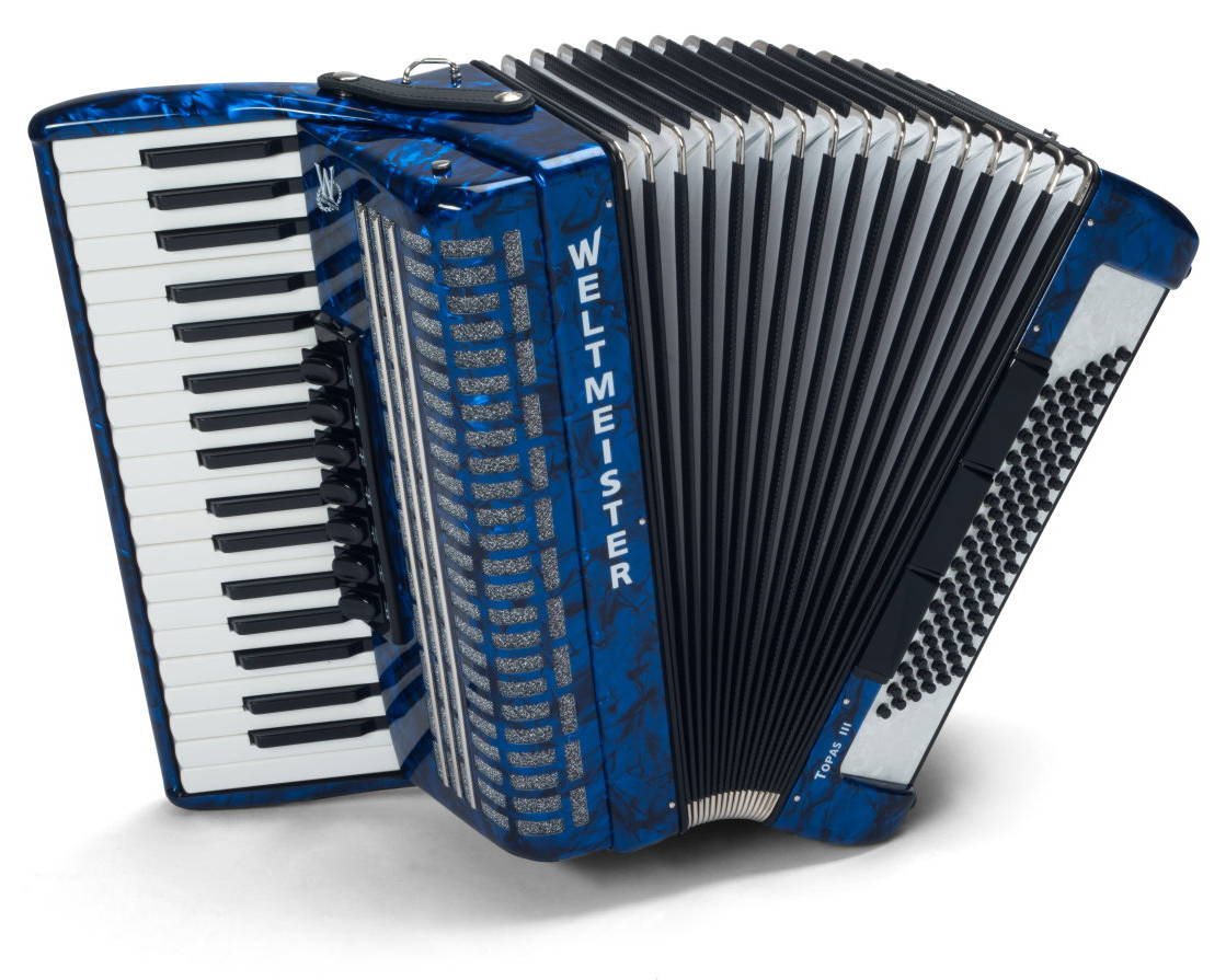 Weltmeister Topas III piano accordion