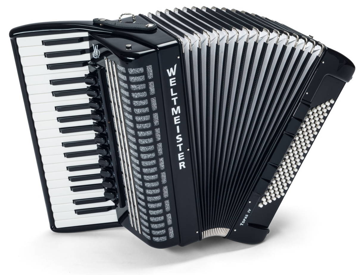 Weltmeister Topas IV piano accordion