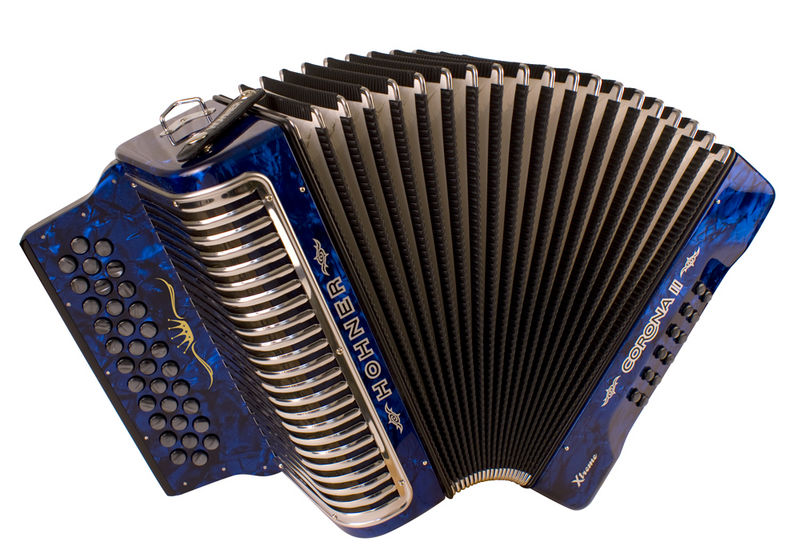 Hohner Corona II Xtreme Button Accordion